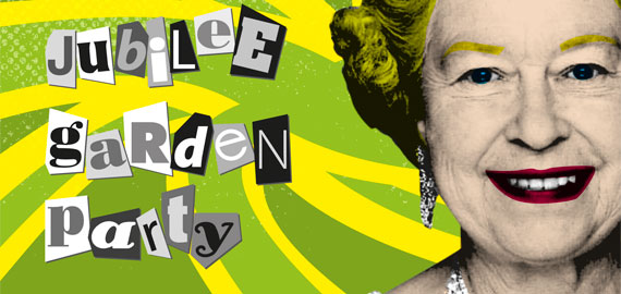 Diamond Jubilee Garden Party invitation